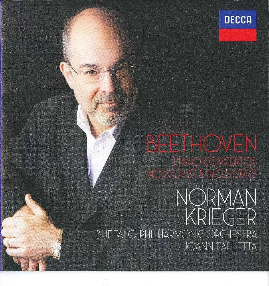 beethoven s third emperor piano concertos norman krieger buffalo