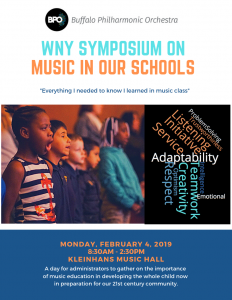 WNY Symposium on Music in our Schools – BPO