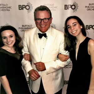Symphony Scholars with Principal Pops Conductor John Morris Russell